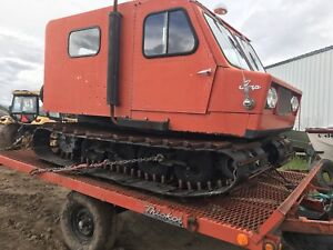 Thiokol Lmp 1404 wt Snow Cat With Tilt Trailer Wide Track See Video