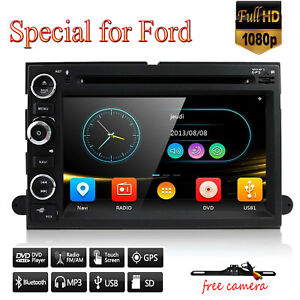 Car Dvd Gps Radio Nav For Ford F150 Edge Explorer Mustang Expedition Free Camera