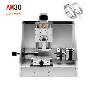 Mini Portable Multifunctional Am30 Cnc Jewelry Milling Engraving Machine