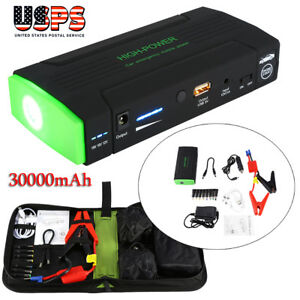 30000mah 12v Car Jump Starter Emergency Charger Battery Booster Power Bank Pack