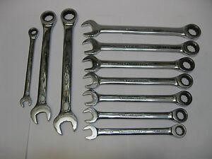 Gearwrench Tools Sae Metric Ratchet Wrenches Sold Each Used