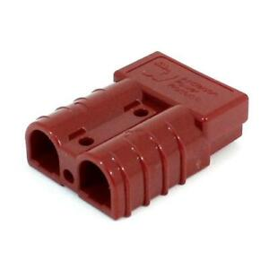 4pk Anderson Power 992g1 bk Connector Housing Sb 50 12 To 6 Awg 24v Red