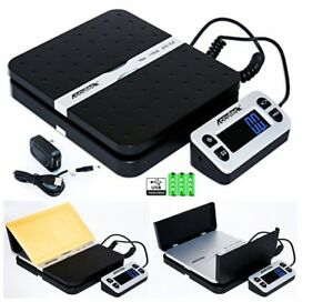 Digital Shipping Postal Scale Accuteck Shippro 110lbs X 0 1 Oz Black