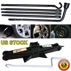 Spare Tire Tool Scissor Jack Kit For 2015 2014 2013 2012 2011 Dodge Ram 1500