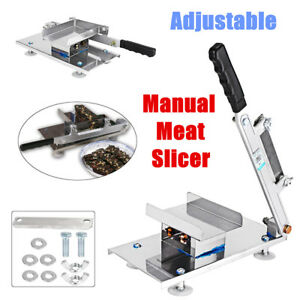Adjustable Manual Frozen Food Meat Slicer Beef Mutton Handle Cutting Machine