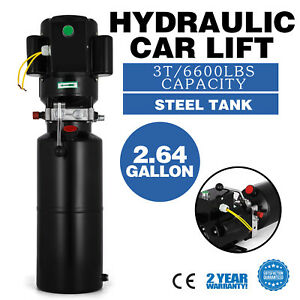 A Car Lift Auto Repair Shop Hydraulic Power Unit 220v 50hz 1 Ph