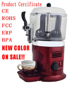Red 110v 5l Hot Chocolate Machine Free Shipping Low Price