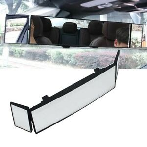 Auto Car Clip On Rear View Mirror Wide Angle Lens Convex Mirror Driving Safety