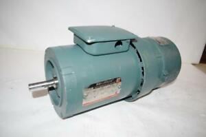 Reliance Electric 1hp Ac Motor Brake P56h3439s wb 208 230 460vac 1125rpm
