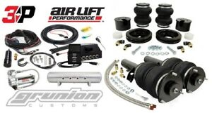 Air Lift 3p Slam Kit 1 4 Vw Golf Mk7 Slam Series Front Rear 444c 2 5 Gal Tank