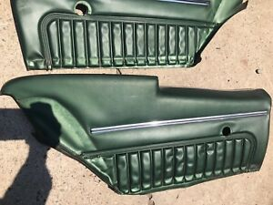 1970 Monte Carlo Rear Door Panels Gm Original Ss 454