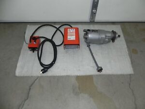 Ridgid 1157 Motor 115v With Fwd rev And Foot Switch For Ridgid 535 400 400a