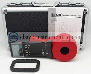 Etcr2100a Digital Clamp On Ground Earth Resistance Tester Meter 1 199