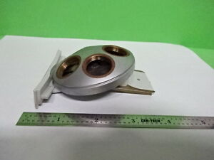 Microscope Part Leitz Germany Nosepiece As Is h1 b 06