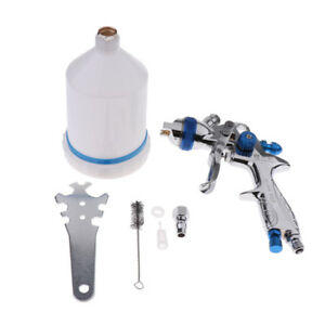 Mini Touch Up Hvlp Gravity Feed Spray Paint Gun 600ml Cup With 1 4mm Nozzle