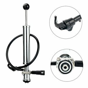 Heavy Duty Complete D system Beer Party Pump Picnic Keg Tap 8 inch Us Free Ship