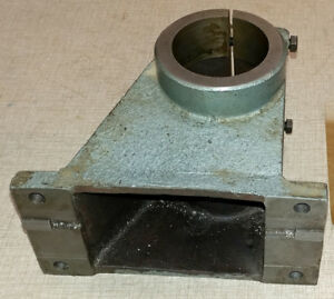 Emco Maximat blue Vertical Milling Parts Round Column Bracket Adapter 0605