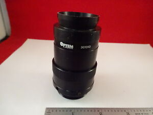 Microscope Part Optem 301310 Adapter Lens Inspection Optics As Is x9 a 56b