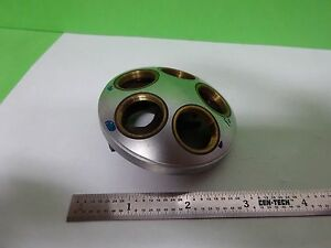 Microscope Part Leitz Germany Nosepiece Without Optics As Is Bin y5 43
