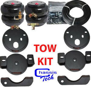 2001 10 Chevy 2500 Towing Assist Over Load Air Bag Suspension Lift Kit No Drill