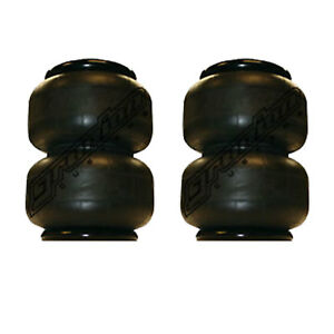 2 2500 Air Bags 10 5 Tall Suspension Part 1 2 npt Port Air Springs