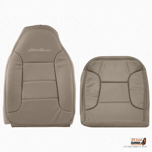 1992 1996 Ford Bronco Eddie Bauer Driver Bottom Top Synth Leather Cover Tan