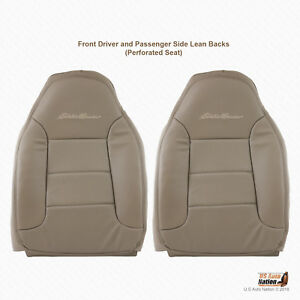 1994 1995 1996 Ford Bronco Eddie Bauer Front Left And Right Tops Tan Vinyl Cover