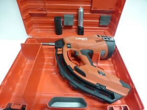 Hilti Gx3 Gas Actuated Fastening Tool Gas Powered Pre owned With Case