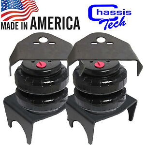 Rear Weld On Air Ride Mount Brackets 2500lb Air Bags Suspension Kit 2 75 Axle