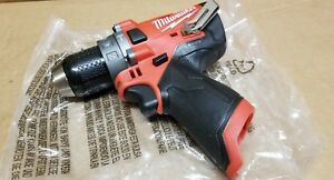 Milwaukee 2504 20 M12 Fuel 12v Brushless 1 2 Hammer Drill Tool only