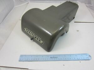 Atlas Craftsman 12 Lathe Headstock Top Guard Cover 342 032 With Badge