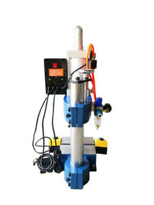 Newest Pneumatic Press 100 To 50 Adjust 300kg 1pc 2 Buttons 110v Punch Machin