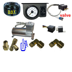 V Tow Assist Control In Cab Air Height Control Electric Switch Gauge Compress