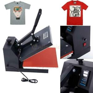 38 X 38 Clam Shell Heat Press T shirt Digital Transfer Sublimation Machine Diy