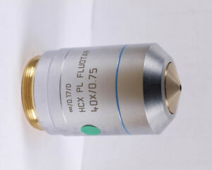 Leica Hcx Pl Fluotar 40x M25 Infinity Microscope Objective