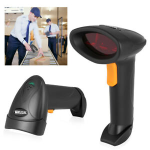 2x Welquic Usb Automatic Sensing Scanning Barcode Scanner With Adjustable Stand