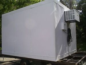 Walk In Drop Box portable Freezer Or Cooler Model New Refrigeration Units 2016