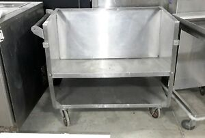 Used Lakeside 407 Stainless Steel Store n Carry Dish Cart