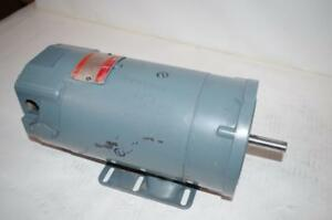 General Electric Shunt Wound 1hp Dc Motor 5bcd56rb390 180a 190f 3450rpm
