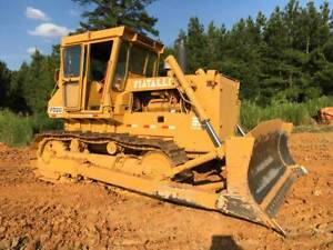 Fiat Allis Chalmers Fd20b Bulldozer Good Running Machine