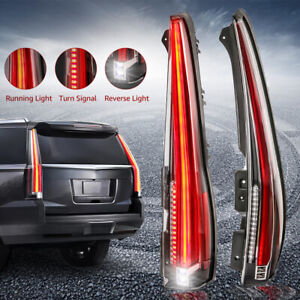 Led Tail Lights Rear Lamp For Cadillac Escalade Esv 07 14 2016 Version Assembly