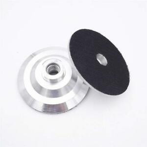 5 Inch Aluminum Backer 5 8 11 Thread For Planetary Polisher Grinder 5 Pieces