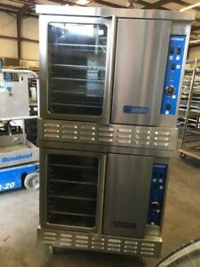 Imperial Gas Double Stack Convention Oven