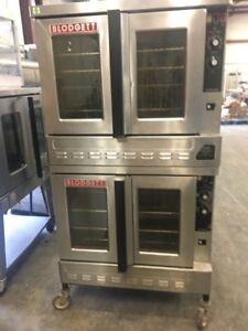 Blodgett Zephaire Gas Double Stack Convection Oven