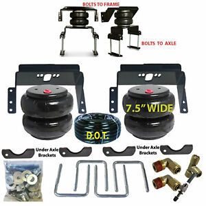 Rear Suspension Air Bag Towing Kit 2011 2016 Ford F350 4wd Tow Over Load Level