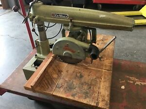 Dewalt Mbf Radial Arm Saw