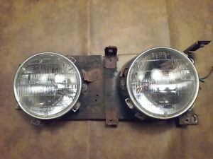 1964 Ford Fairlane 500 Sedan Hardtop Headlight Assembly Passenger Side
