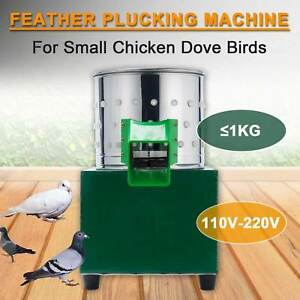 Small Chicken Feather Plucking Machine Poultry Plucker Birds Depilator 110v 220v