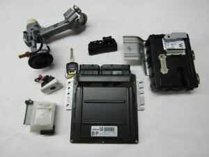 2005 Infiniti G35 Coupe Ecu Bcm Key Igntion Lock Set Mec65250b15126