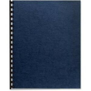 Fellowes 52098 Expression Linen Presentation Covers Letter 200pk Navy